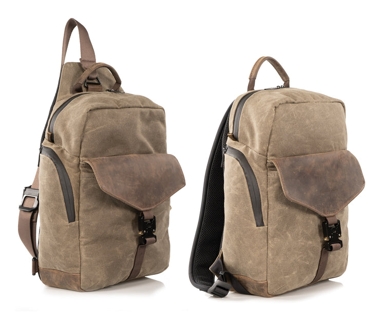 Available in Sling or Backpack style