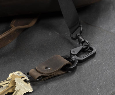 Leather Key Clip