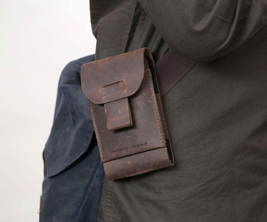 Ranger Case attached to strap