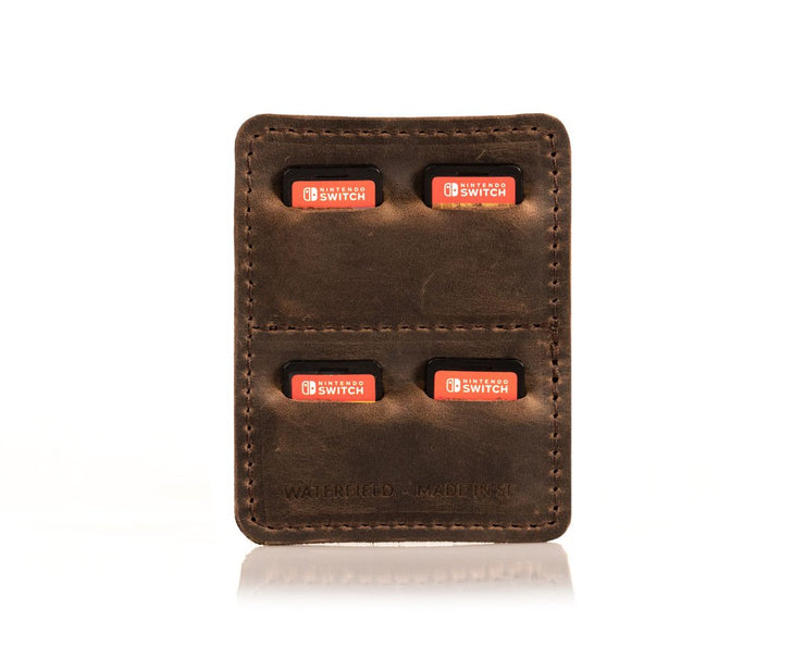 OPTIONAL: Full grain leather Game Holder is custom-made for Dash Express