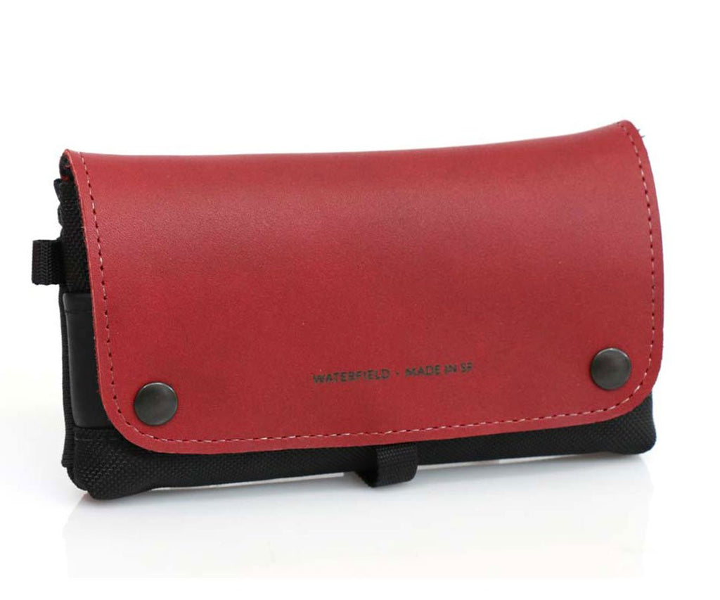 Crimson Leather Flap