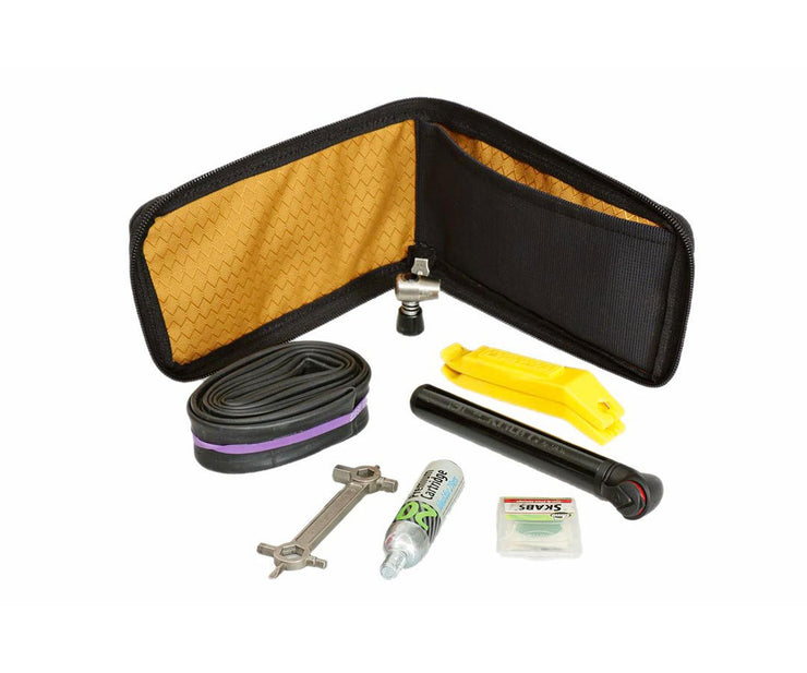 Fit tools in main compartment (tools not included)