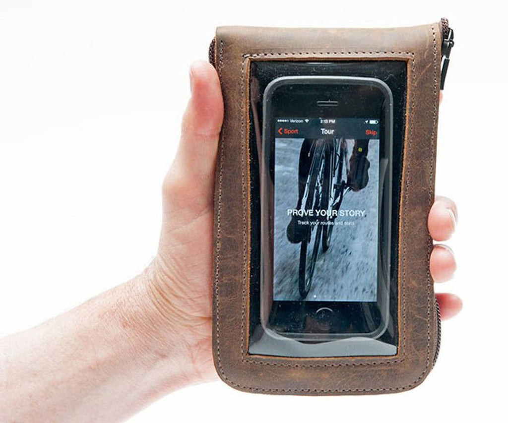 The Cycling Ride Pouch for tools, phone, & essentials