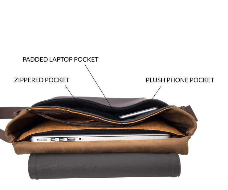 Plenty of organizational pockets and compartments