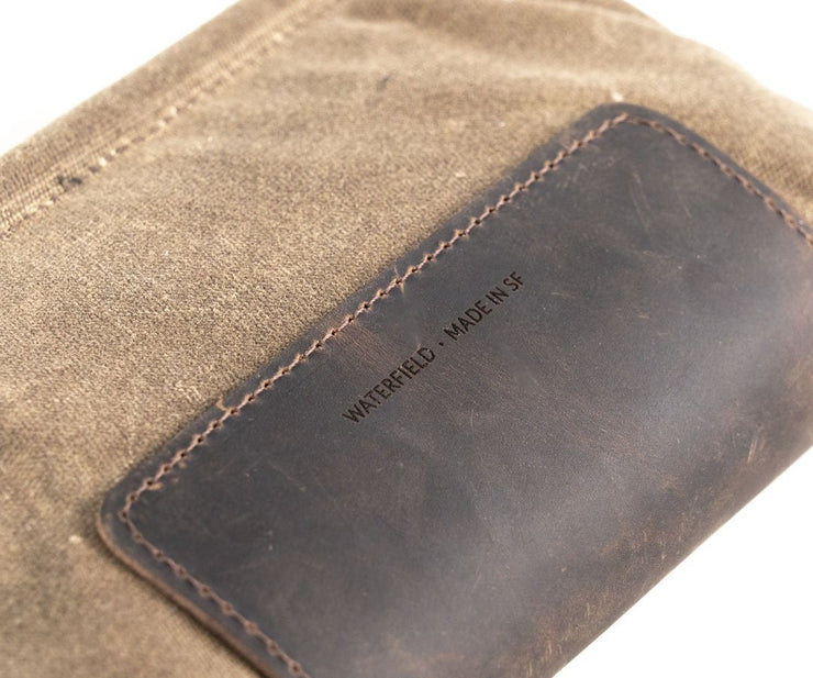Full-grain leather grip withstands high-frequency use