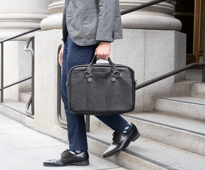 Meet the Executive Leather Briefcase