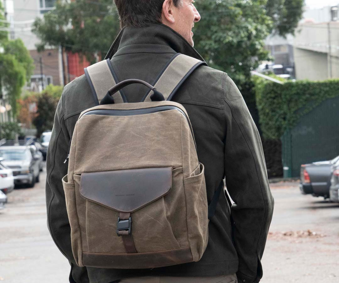 WaterField Pre-Launches Mezzo Backpack with Buckle Choice and Free Pouch Image
