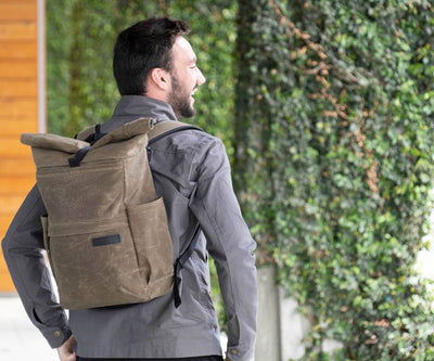 Tech Rolltop Backpack