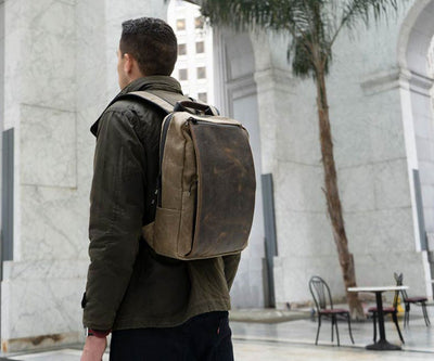 Meet the Sutter Slim Backpack
