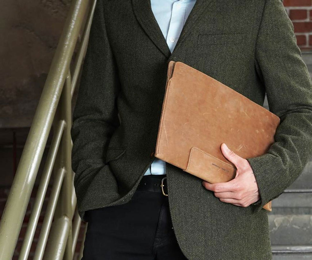Full grain Leather Sleeve for MacBook
