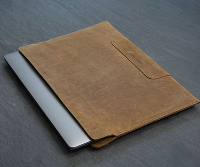 The Vero Leather Sleeve for MacBook Pro