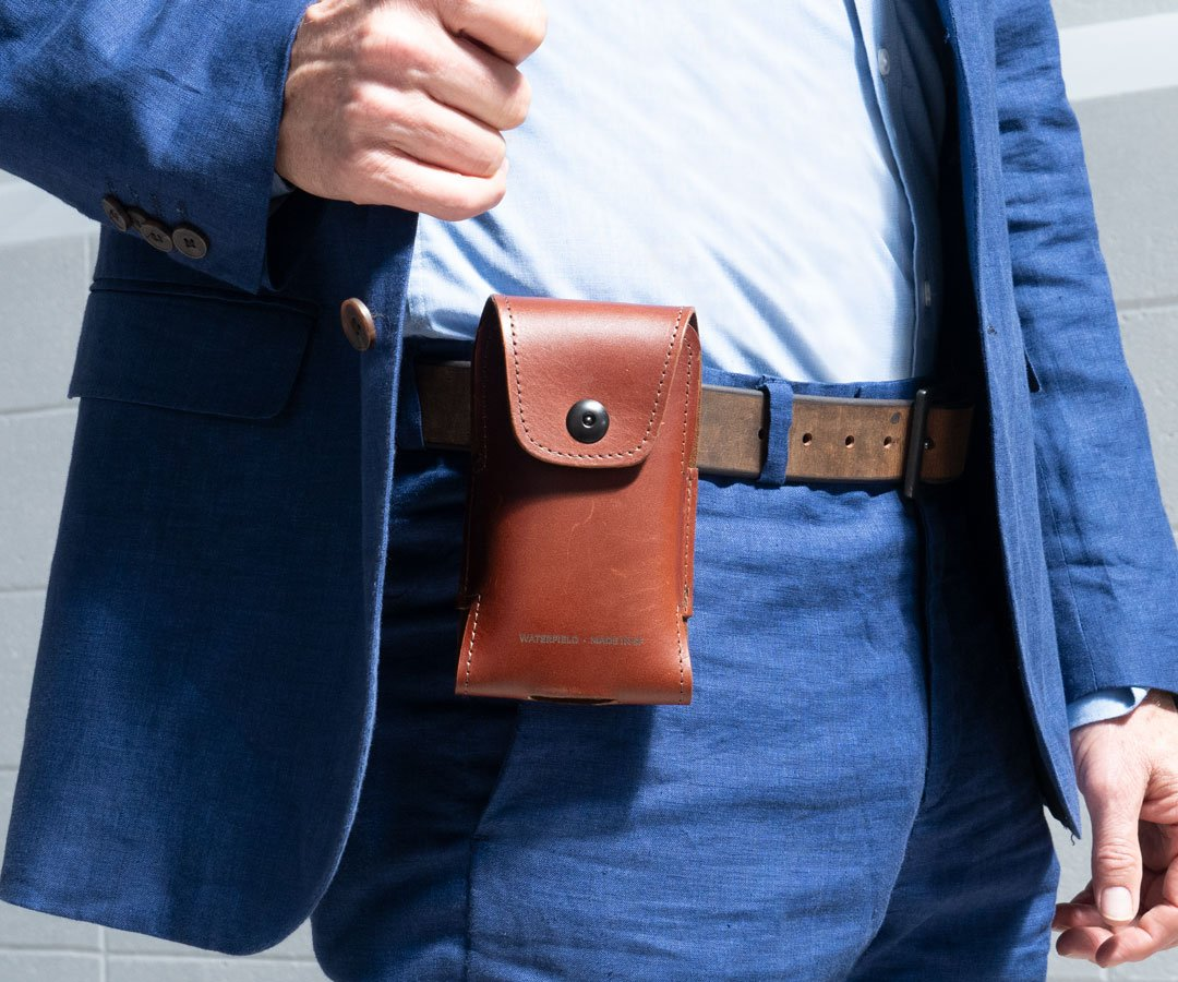 WaterField Launches Latigo Leather iPhone Holster for Apple iPhone 13 Image