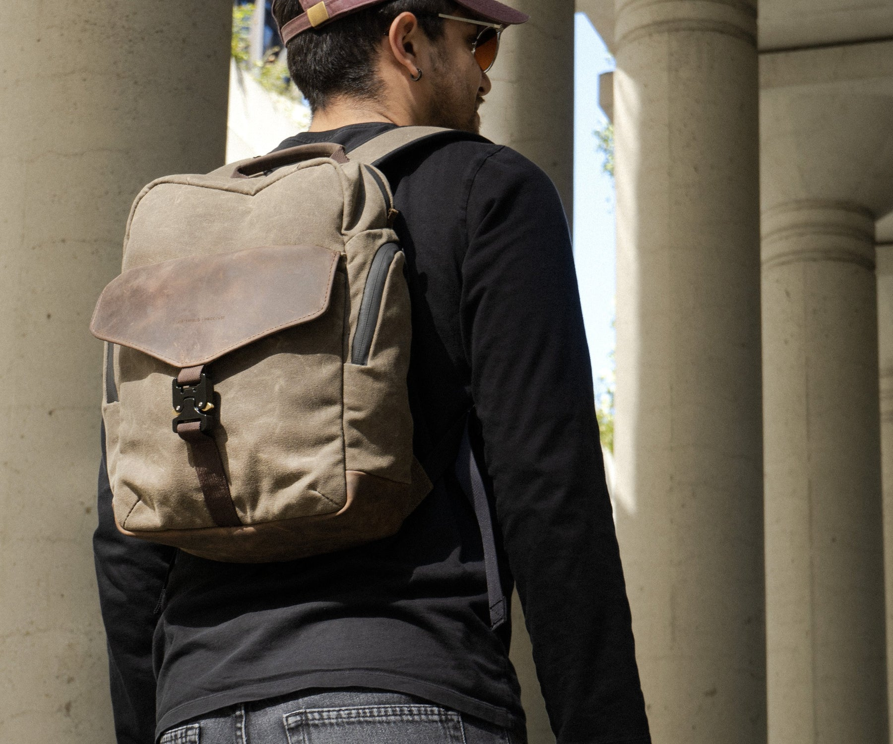 Backpack or Sling? Customers Choose with WaterField's new Field Pack Image