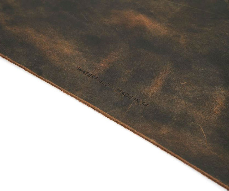 Cut from premium full-grain cowhide