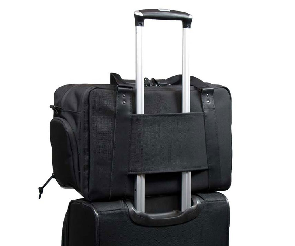 Packs conveniently for business travel