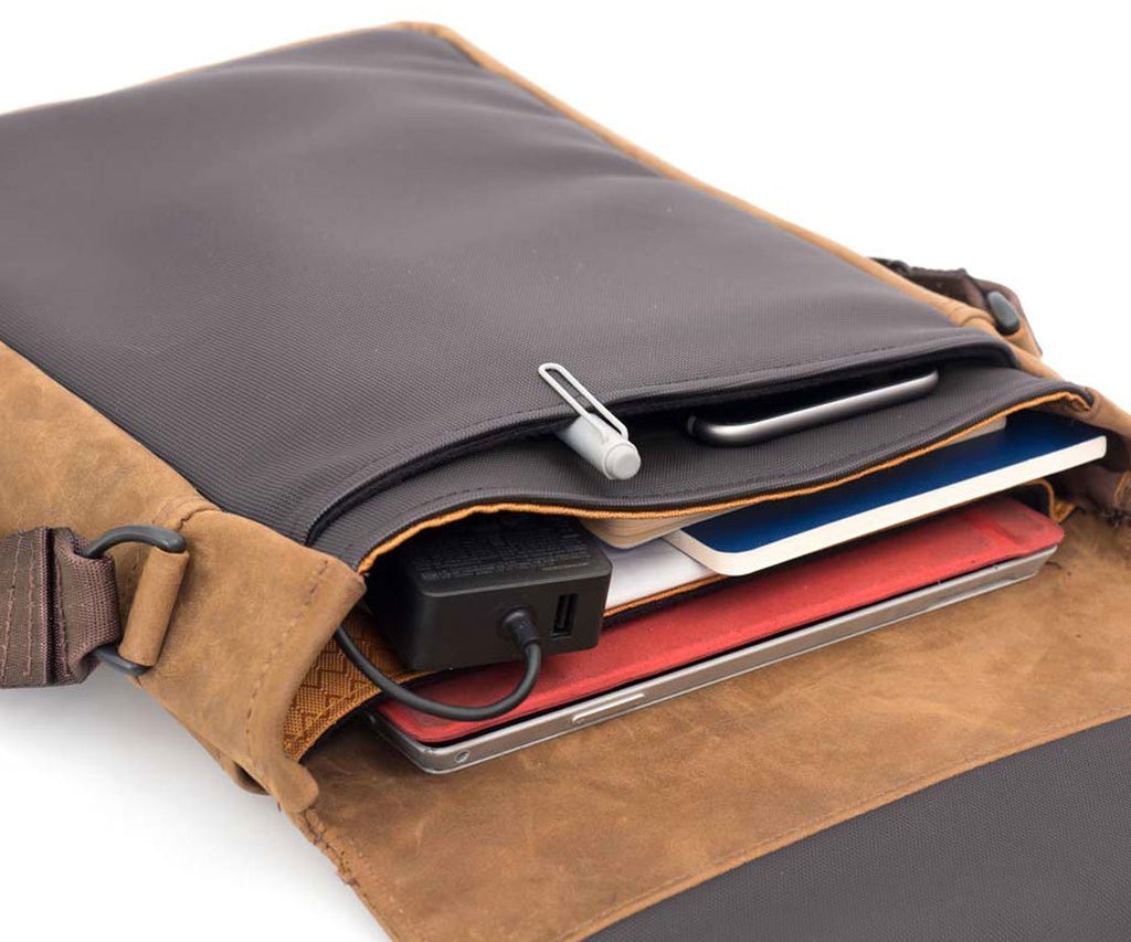 Surface Pro fit in the built-in padded compartment