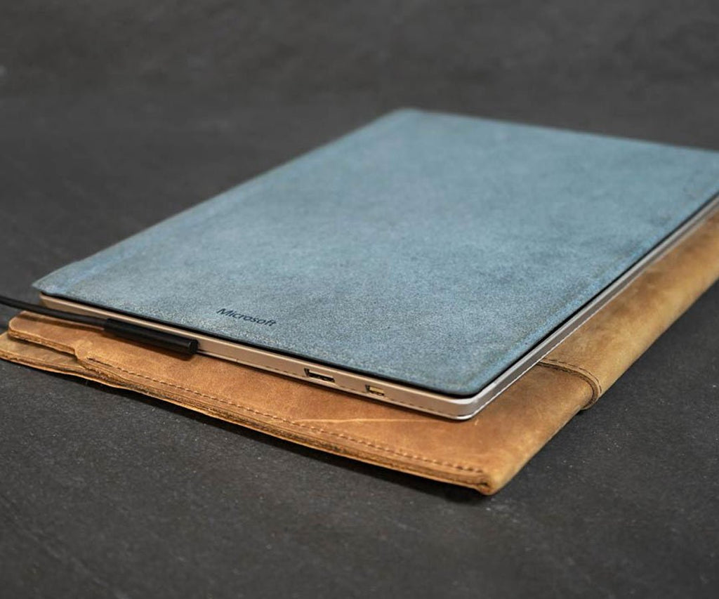 Leather Sleeve for Surface Pro 6