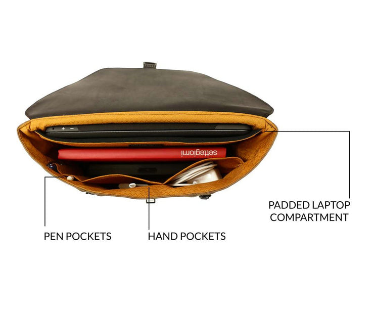 Organizational pockets lets you carry more than you think