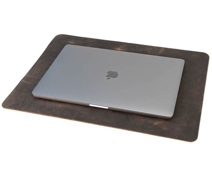 Meet the  Leather Desk Pad