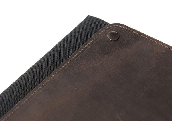 CitySlicker MacBook Case leather flap