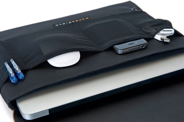 CitySlicker MacBook Case under flap
