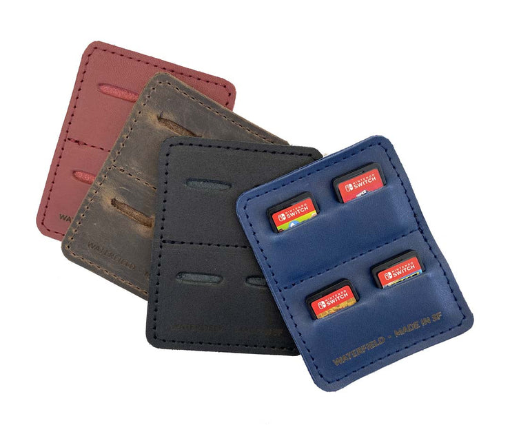 Available in four leather colors