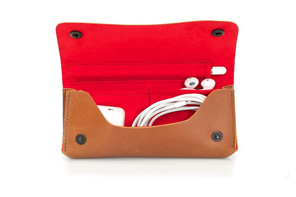 A place for every iPad Pro small accessory. Soft Ultrasuede liner.
