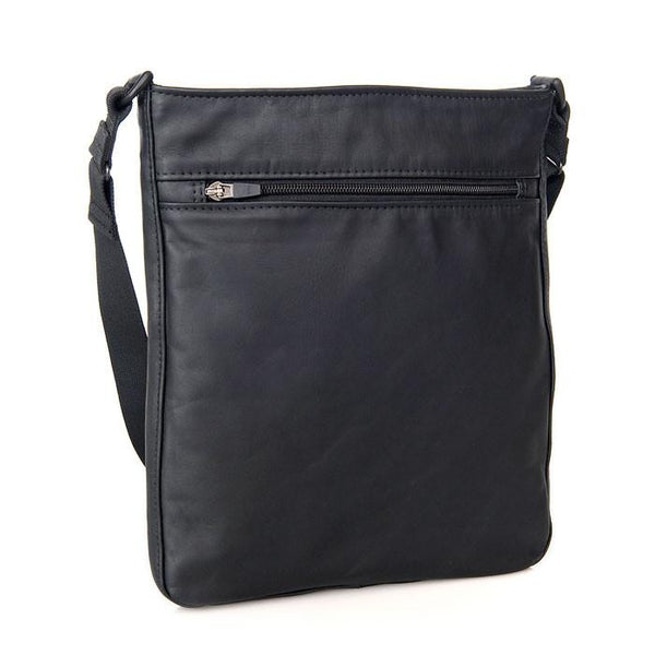 Zipped rear pocket