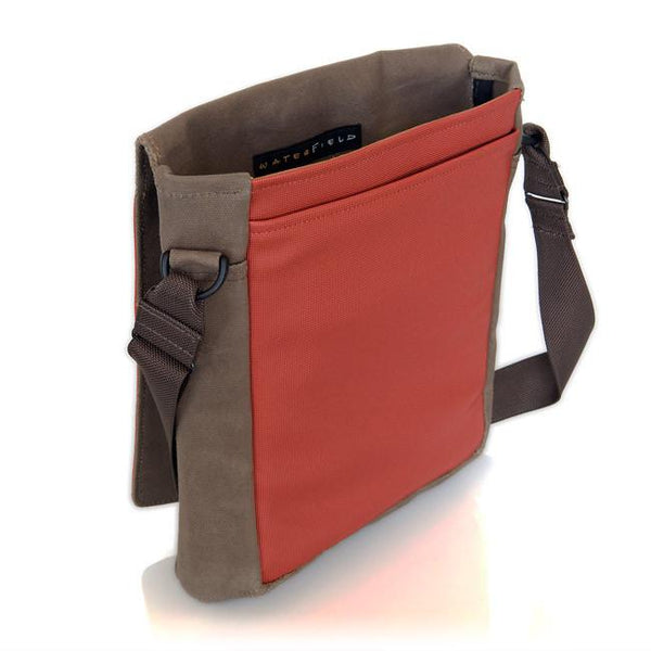 Muzetto Outback laptop tablet bag - Waxed Canvas