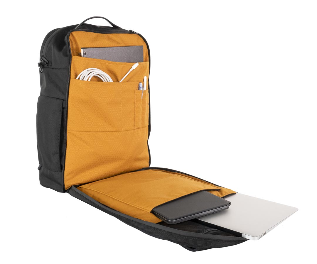 New Air Travel Backpack: Office Compartment Protects Two MacBook Pros Image