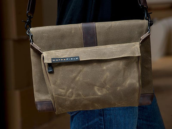 Outback MacBook Sleeve with piggyback and strap