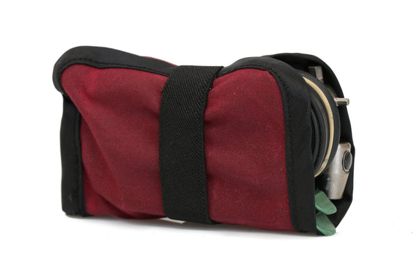 Burgundy Mini Tool Roll (tools not included)