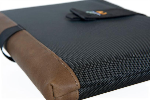MacBook SleeveCase with leather accent
