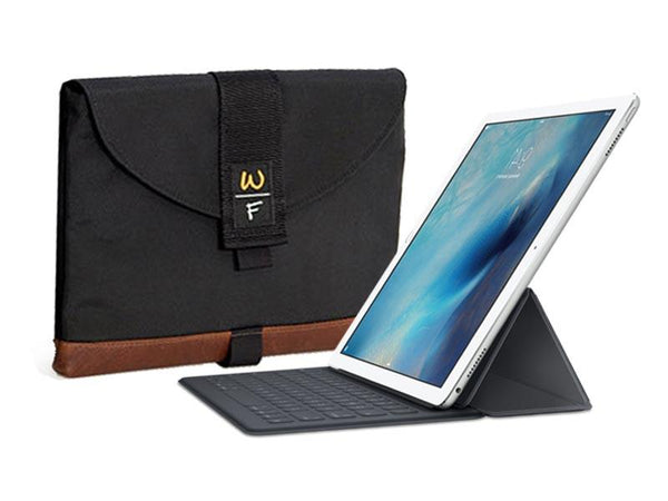 The Ultimate iPad SleeveCase fits the NEW iPad Pro, Smart Keyboard, and Pencil.