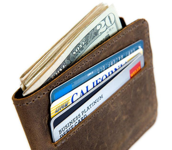 Victor Leather wallet cash and credit card