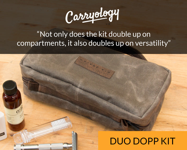Carryology for Duo Dopp Kit