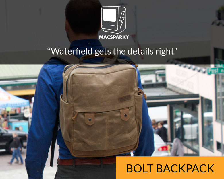 MacSparky for Bolt Backpack