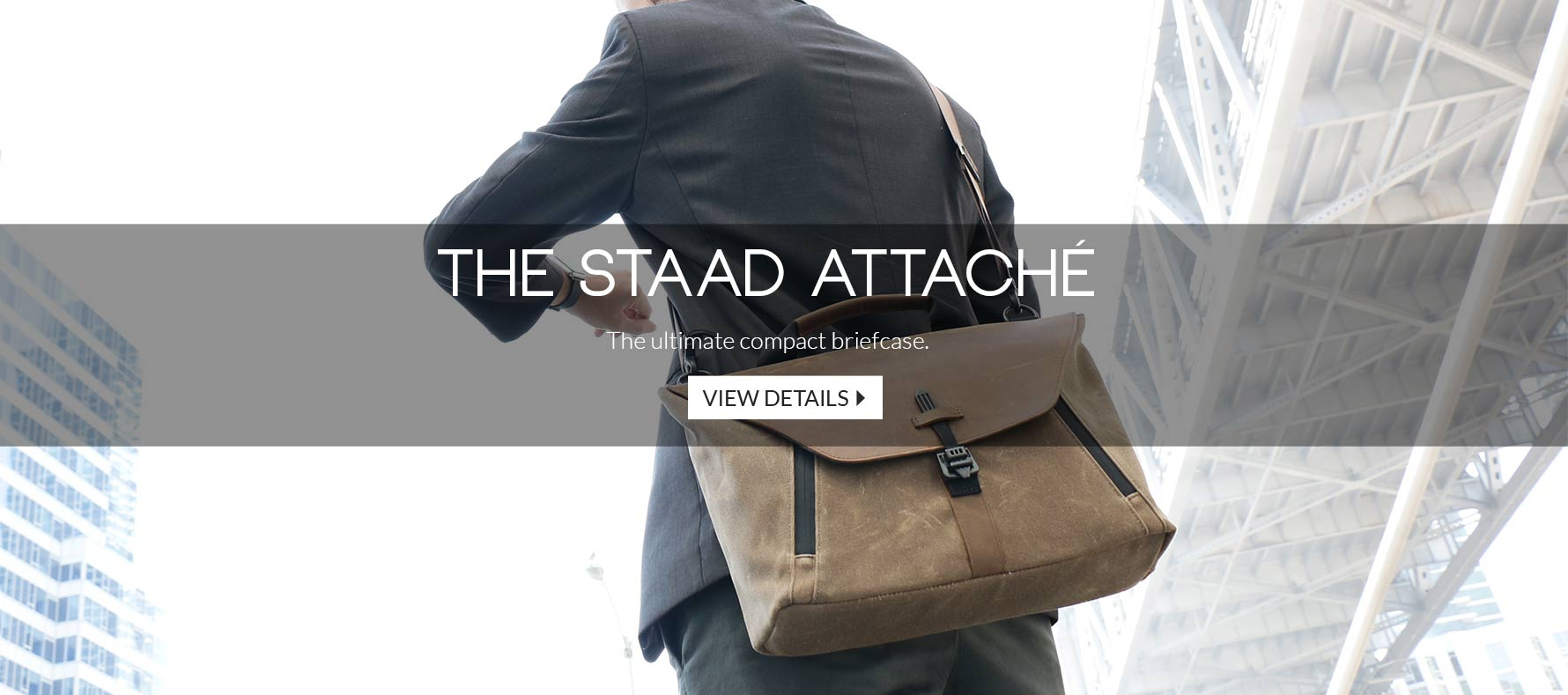 The Staad Attache - The ultimate compact briefcase
