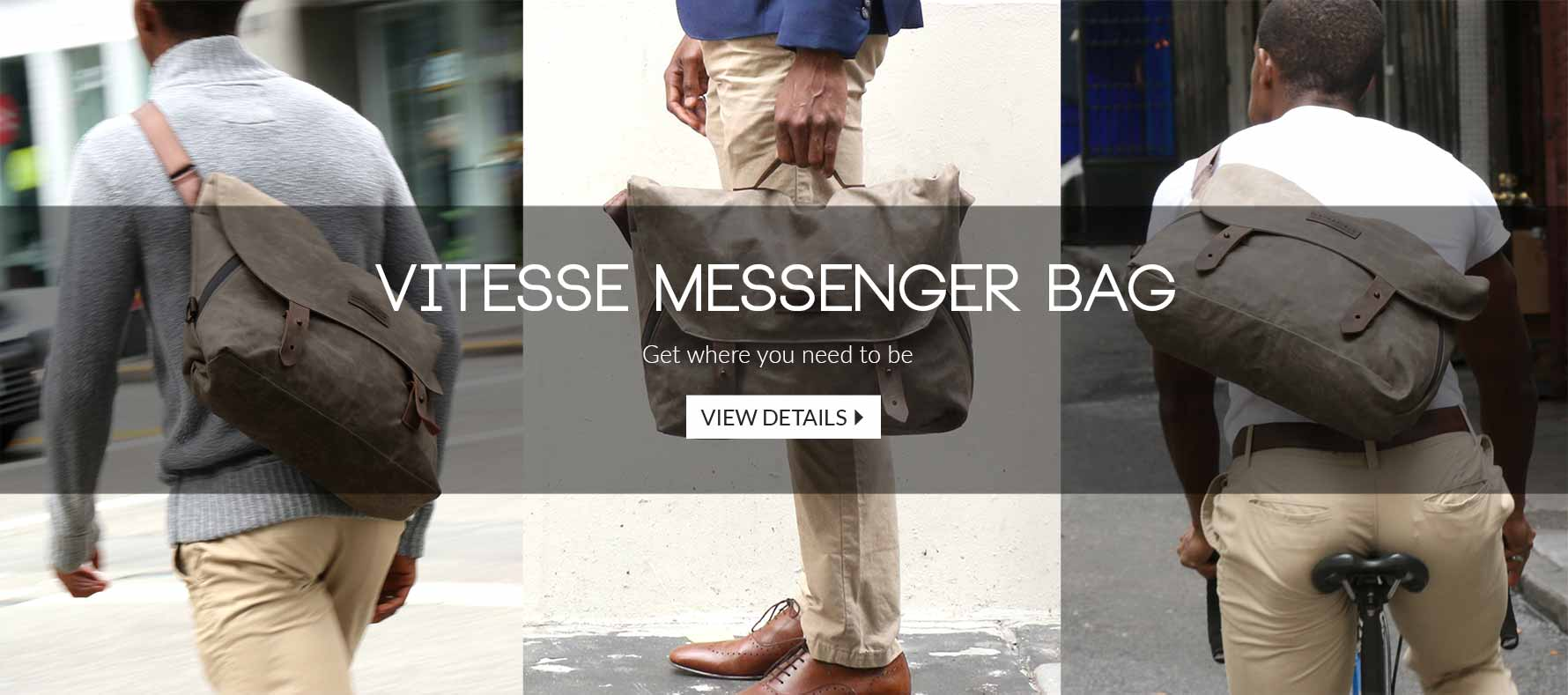 Get Where You Need to Be with the Vitesse Messenger Bag