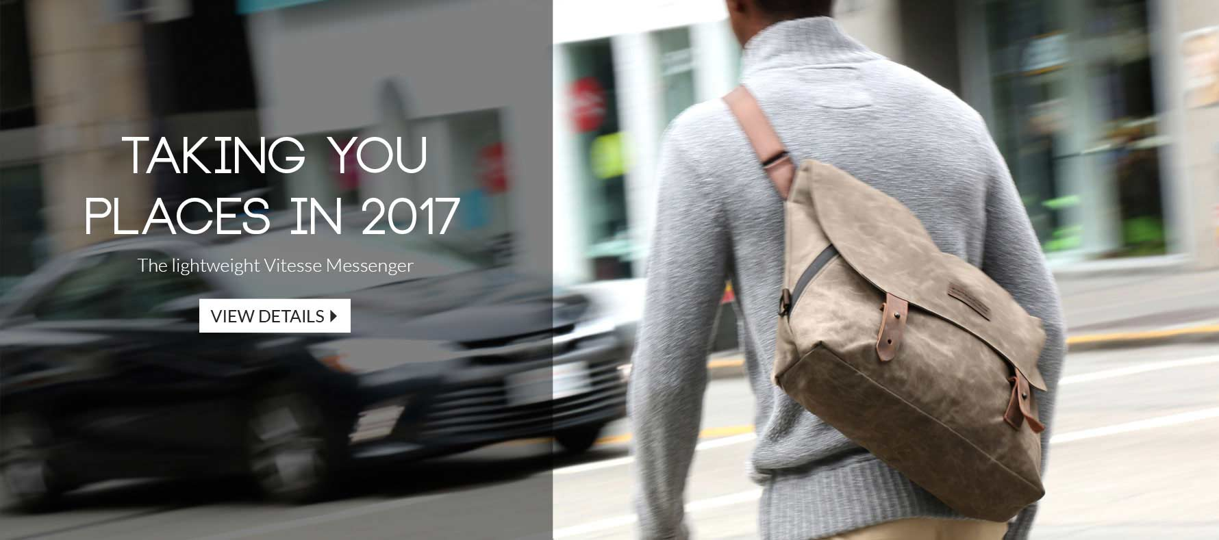 The lightweight Vitesse Messenger - Taking you places in 2017