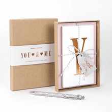 Load image into Gallery viewer, Concertina Card | You + Me | Luxury Boxed Concertina Card