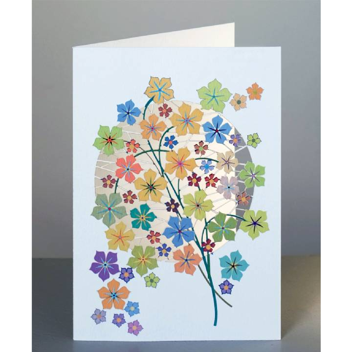 Forever laser cut Greeting Card - Yellow flowers