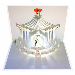 Forever POP UP card happy wedding day