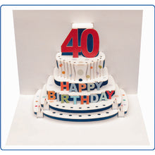 Load image into Gallery viewer, Forever POP UP card happy birthday Age- 16 to 100