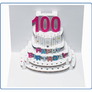 Forever POP UP card happy birthday Age- 16 to 100