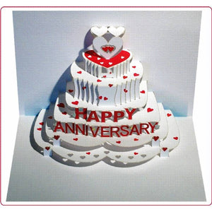 Forever POP UP card happy anniversary
