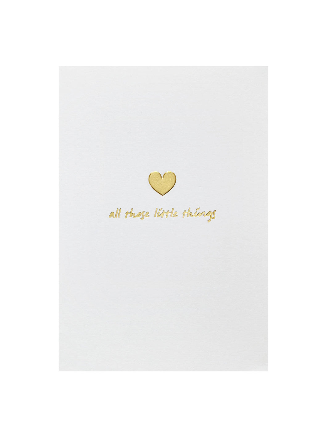 All those little things - Greeting Card