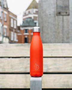Chilly bottle 500ml Pastel Coral