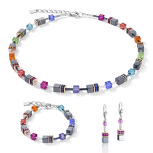 Load image into Gallery viewer, GeoCUBE® Earrings  multicolour