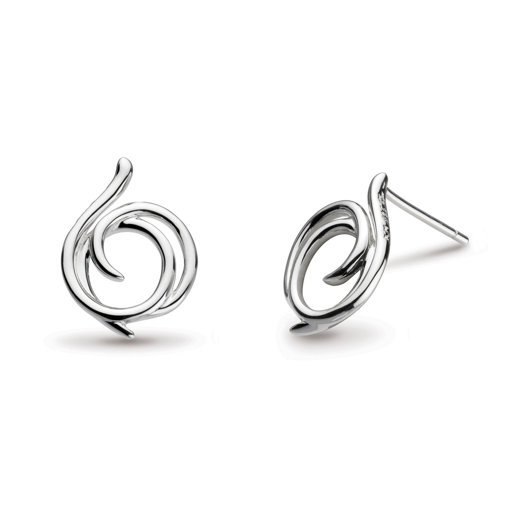 Kit Heath Entwine Helix Wrap Stud Earrings